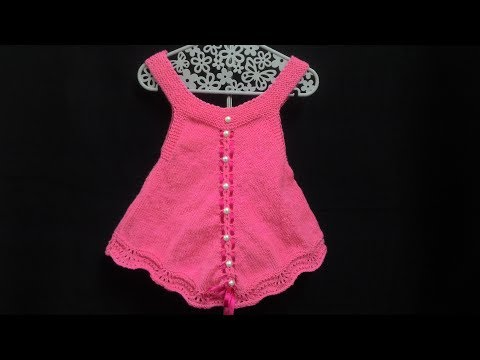 Baby Tunic / Frock for 2.5 - 3 years (फ्रॉक हमारी परियो के लिए ) | Knitting Hindi |
