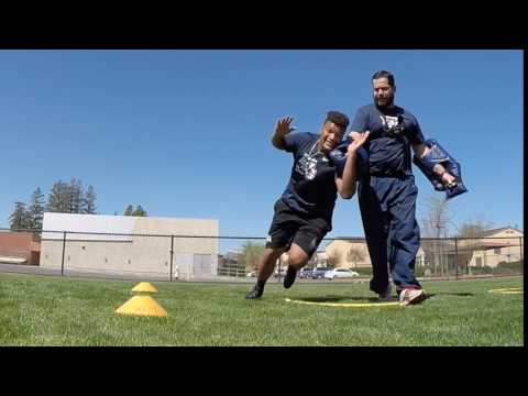 Jordan Carrell - Defensive Lineman Training for NFL