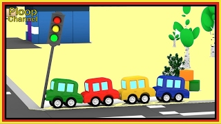 Cartoon-Autos - Ampel Crash! Cartoons für Kinder - Videos für Kinder - Kids Autos Cartoons