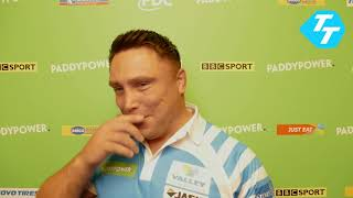 Gerwyn Price INSISTS the crowd isn't a factor as he enters Champions League semi-finals