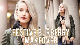 Burberry Festive Makeover | Inthefrow ad