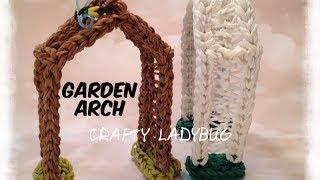 Rainbow Loom 3d Arch - Garden Series Advanced Tutorial By Crafty Ladybug. Wonder Loom, Diy Loom