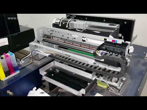 Service Pompa Head Cleaning Capping Mampet Berbusa di Printer DTG Epson 1390 L1800 #VLOG 7
