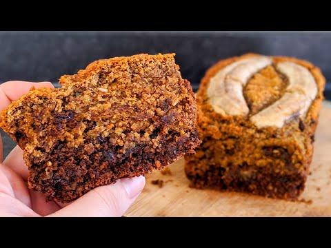choco-&-banana-bread-🍌🍫-/sans-gluten/-gluten-free-recipe-/-خبز-الموز-الخالي-من-الغلوتين