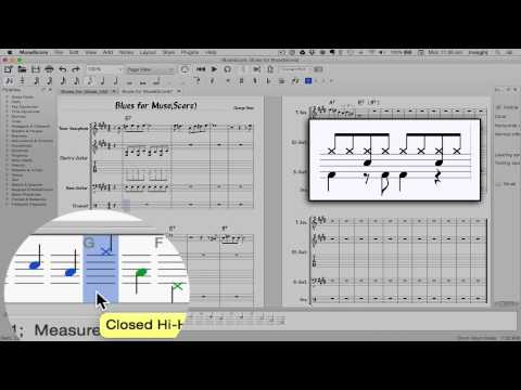 MuseScore in Minutes: Lesson 7 - Tablature and Drum Notation
