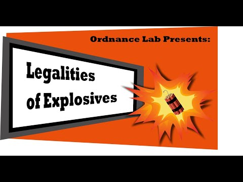 Legalities Of Explosives & How Tannerite Is Legal