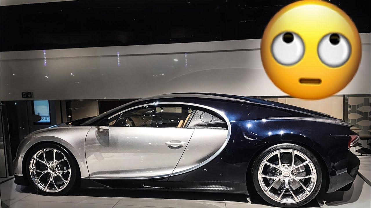 FAKE plastic Carbon on a $3 MILLION Bugatti Chiron + other Supercars in Monaco