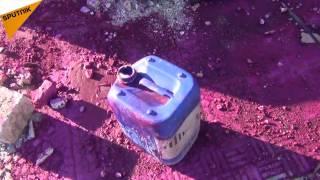 بالفيديو..هكذا تمّ تحضير المواد الكيماوية واستهداف المدنيين!