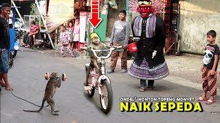ONDEL ONDEL Nonton TOPENG MONYET, Lucu Sekali !! ~ Funny Monkey