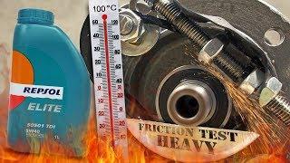 Repsol Elite 50501 TDI 5W40 Jak skutecznie olej chroni silnik? 100°C