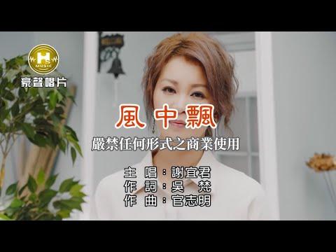 謝宜君-風中飄【KTV導唱字幕】1080p