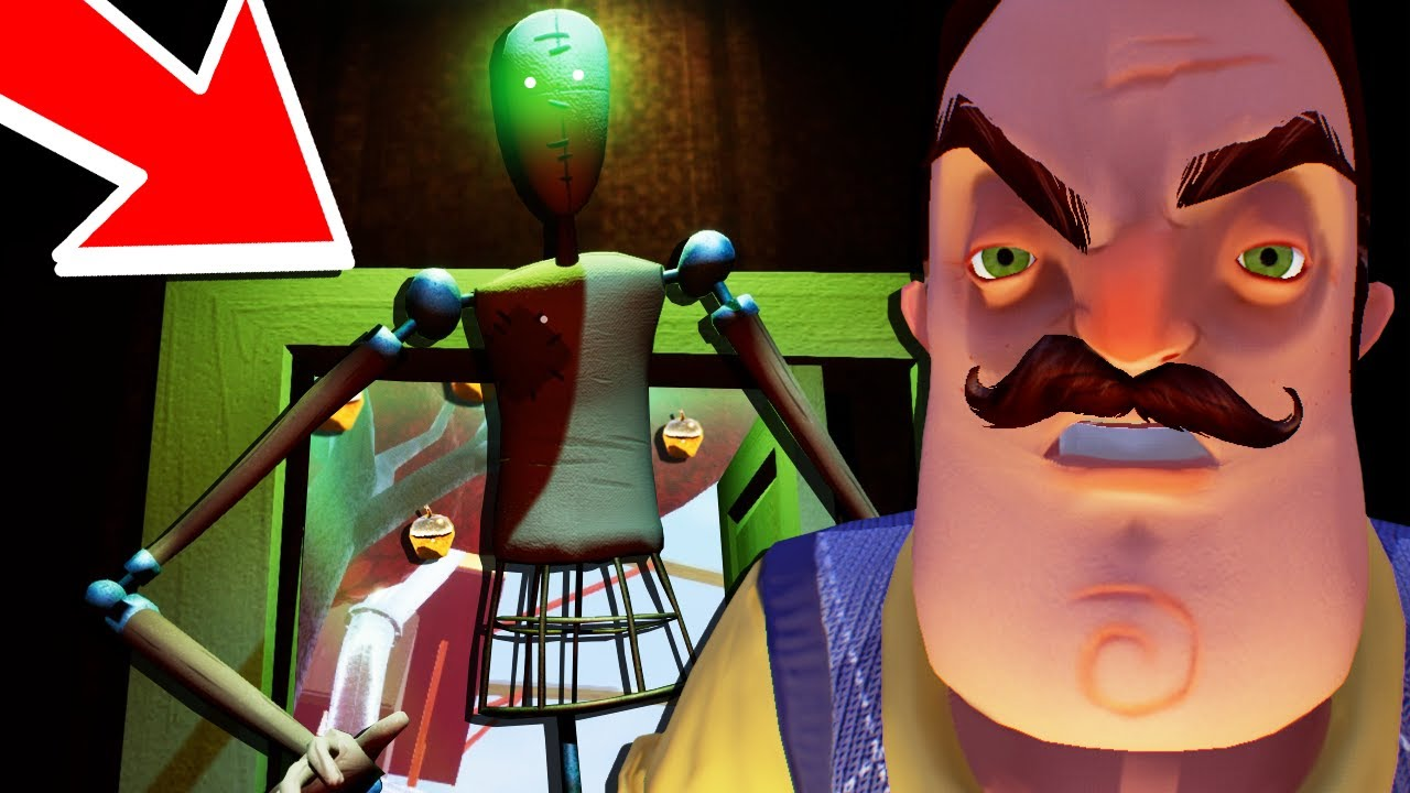 Hello Neighbor BETA 🌟IS THIS HOW IT ENDS!? REALLY ...