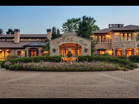 Sprawling 23,000 SQ FT $15 Million 9 Bed 10 Bath Mansion in Englewood Colorado USA
