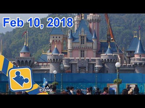 Construction Update:Castle Transformation | Hong Kong Disneyland (Feb 10, 2018)