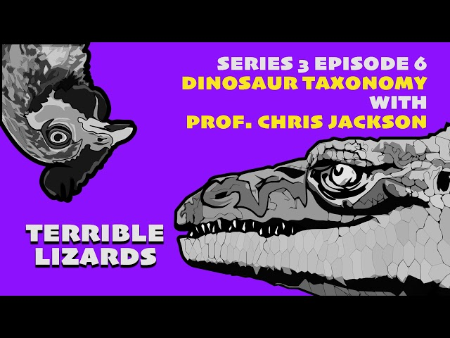 S03E06 Dinosaur Species and Taxonomy