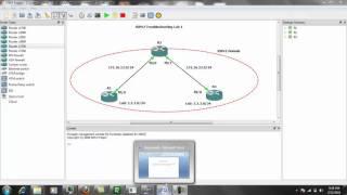 Routing Information Protocol RIPv2 Troubleshooting Lab 1