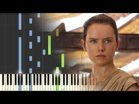 Star Wars: The Force Awakens - Rey's Theme - Piano (Synthesia)