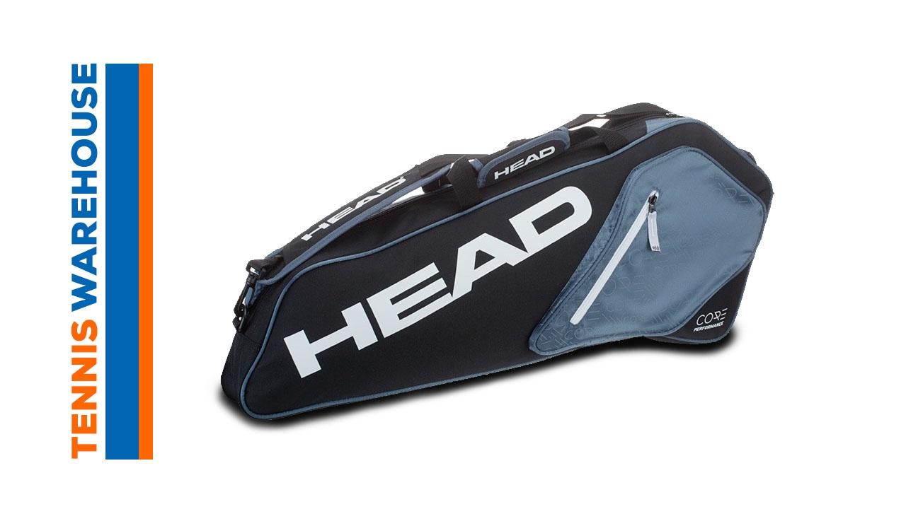 Head Tennis Bag >> Head Core Series Tennis Bag 3r Pro
