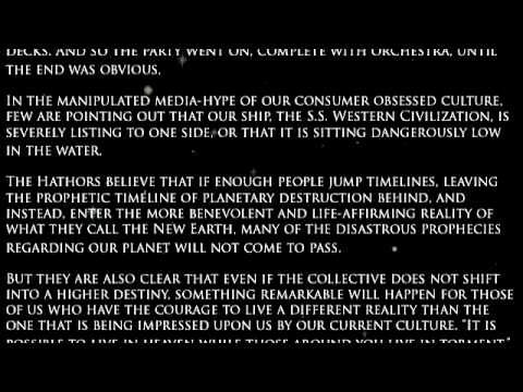 A Hathor Planetary Message Through Tom Kenyon Pt3 - August 03, 2010.mov