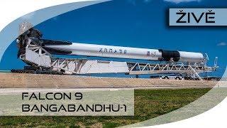 ŽIVĚ: Falcon 9 (Bangabandhu-1) ODKLAD