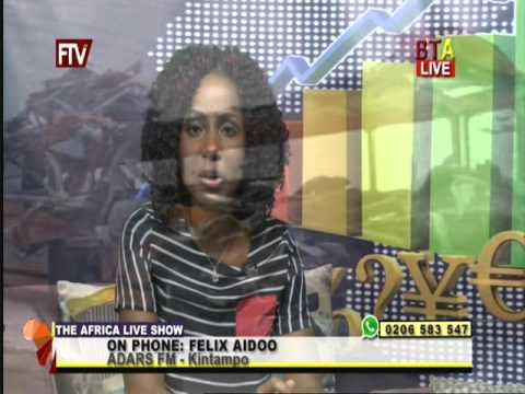 Community policing in Ghana. Africa Live Show. 22 02 16
