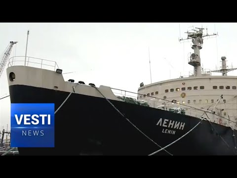 Russia's First Arctic Nuclear Icebreaker 'Lenin' Celebrates its 60th Anniversary