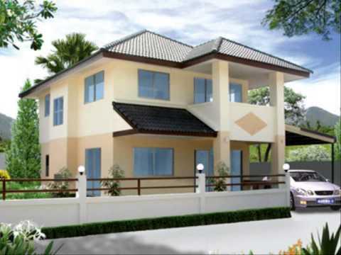 ออกแบบสีทาบ้าน ออกแบบบ้านราคาถูก
