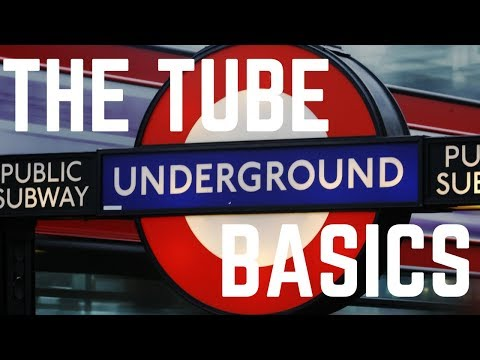 HOW TO GET AROUND LONDON | LONDON UNDERGROUND TUBE GUIDE PART 1 | FIRST WORLD TRAVELLER