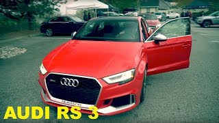 homepage tile video photo for 2018 Audi RS 3 Review - Is This The Best New Sport Compact?