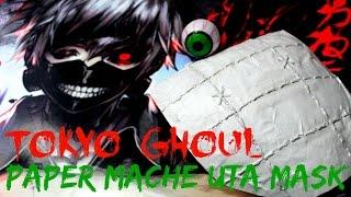 Tokyo Ghoul | DIY Paper Mache Uta Mask Tutorial