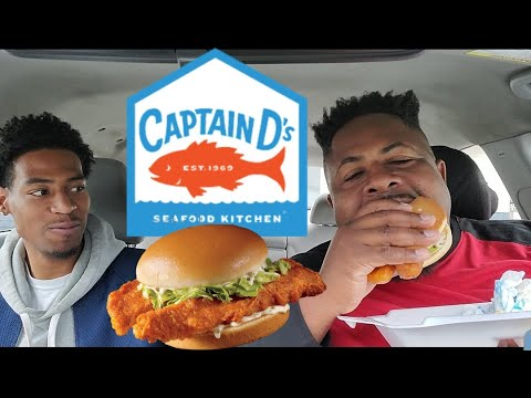 Captain Ds Fish + Captain Ds Spicy Fish Sandwich