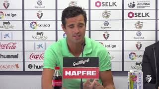 """Miguel Flaño: """"Estoy agradecido al club por esta oportunidad"""""""