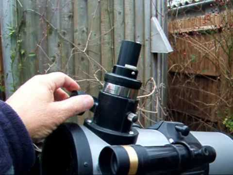 Meade telescope into hi-res Schmidt astro-camera