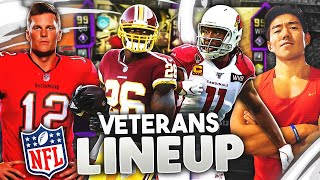 VETERANS LINEUP! PLAYERS W/ 10 SEASONS OR MORE! Madden 20 Ultimate Team