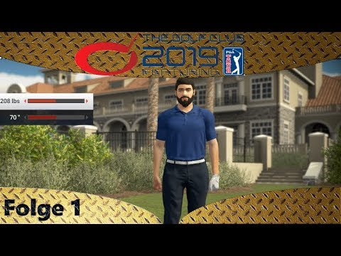 The Golf Club™ 2019 feat. PGA TOUR - Erster Blick und Tutorial - Let's Play 1 - Deutsch - German