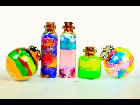 Кулоны из бутылочек своими руками