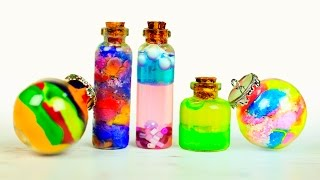Волшебные кулоны-бутылочки своими руками – 7 идей