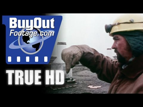 HD Historic Stock Footage - Alaska Oil Reserves - Journey To Prudhoe Bay