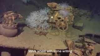 発見後、一躍話題に!海底に眠る最強戦艦「武蔵」の姿