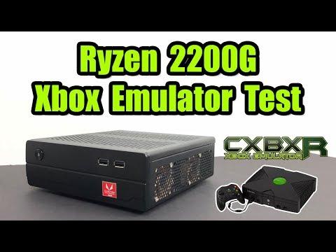 Ryzen 3 2200G CXBX Reloaded Test Original Xbox Emulator