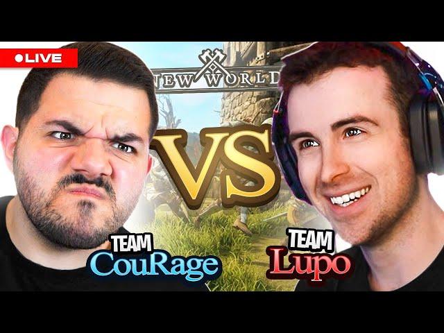 🔴 LIVE - HUGE 50 vs 50 WAR vs DrLupo and Gothalion!