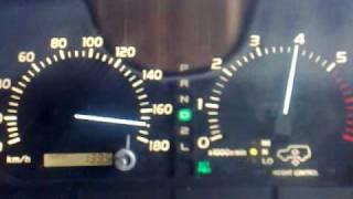 CYGNUS/LX470 Top SPEED on motorway