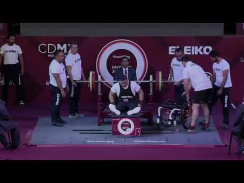 Men's Up to 88kg | Mexico City 2017 World Para Powerlifting Championships