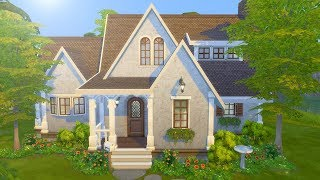 Building a Cottage in The Sims 4 (Streamed 2/5/19)