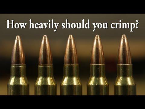Bobs' 223 Bulk Bullets - Crimp tests