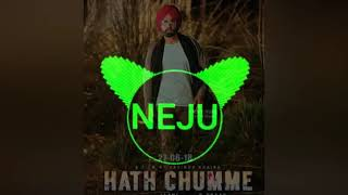 HATH CHUMME | Ammy virk | Sound check + 3d music | Dj niju shera
