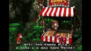 Kaio 7 anos e Bernardo 3 anos jogando Donkey Kong