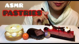 ASMR PASTRIES (EATING SOUNDS) No Talking