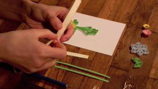 Make a Paper Filigree Greeting Card - Quilling, the Art of Paper Filigree