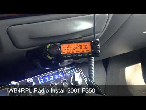 Ham And Cb Radio Installation Ford F350 Dstar And